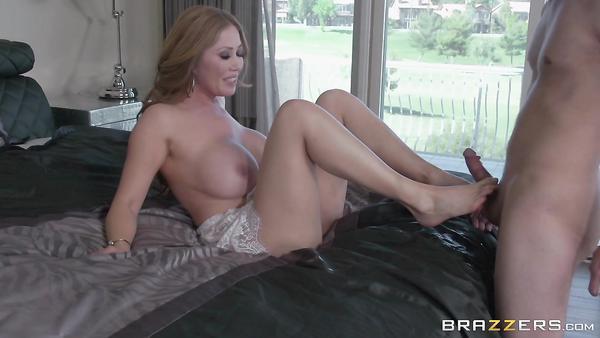 My Asian friend's hot mature mom Kianna Dior takes my cock