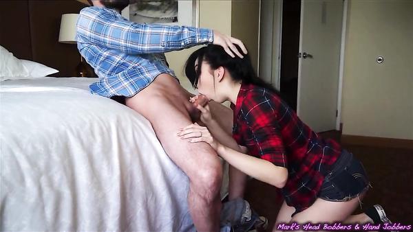 Amateur porn with cute pornstar Aria Alexander in POV