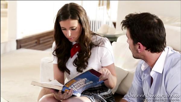 Schoolgirls' Pranks. Part 3 Naughty Casey Calvert and her teacher