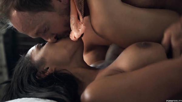 Big ebony tits girl Priya Price takes her master's cock