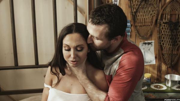 James Dean fucks his favorite porn star Ava Addams in the attic