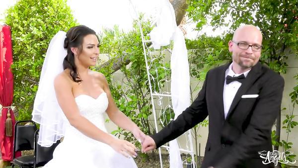 Shemale bride Chanel Santini seduces her fiance best friend