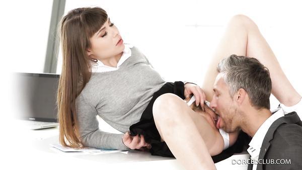 Naughty schoolgirl takes her teacher's cock in her fat ass